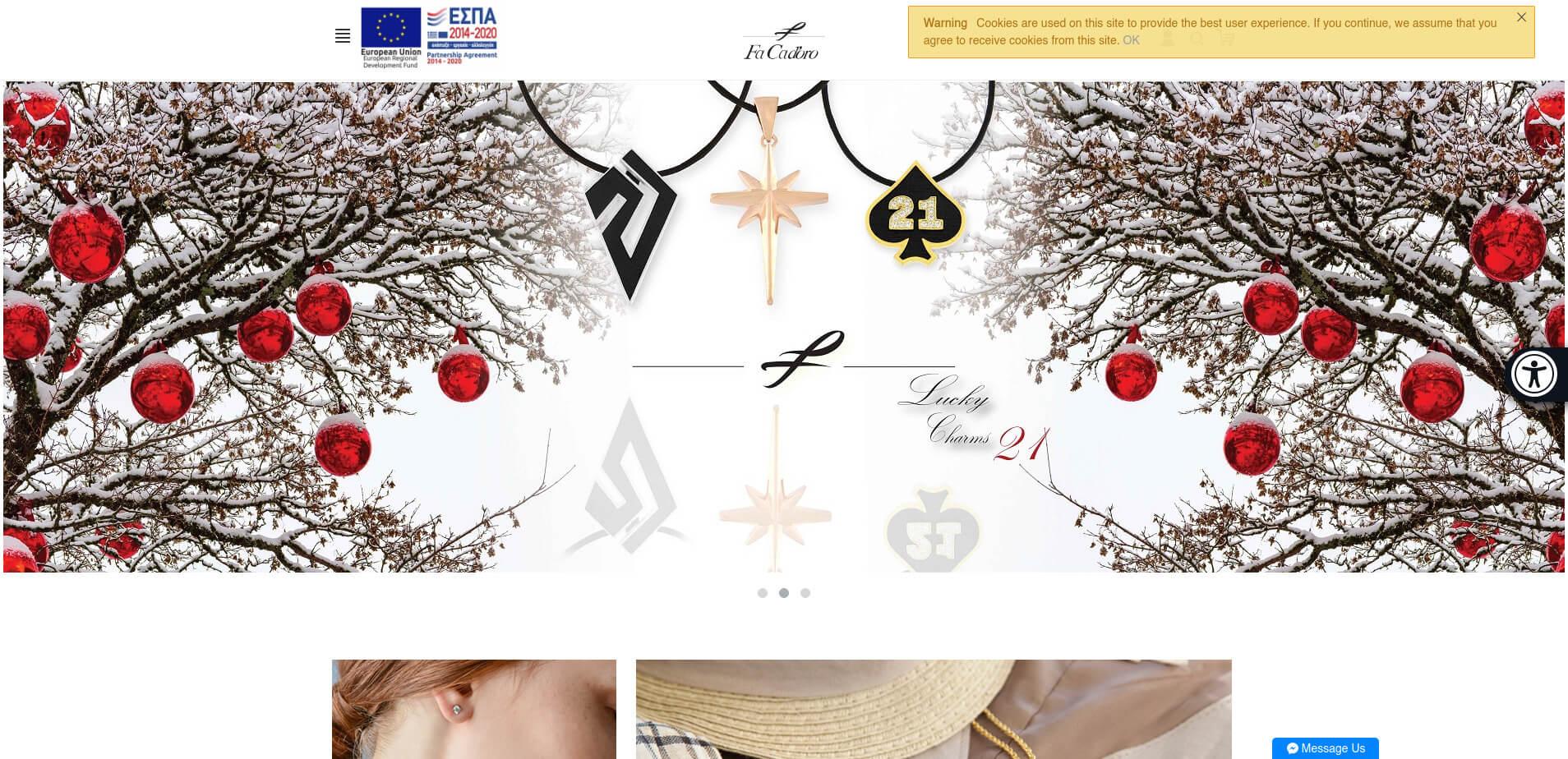Μπάρα Προσβασιμότητας ΑμεΑ Eucleides - Ιστοσελίδες κατάλληλες για ΑμεΑ σύμφωνα με το πρότυπο WCAG 2.0 - Εγκατάσταση σε όλες τις πλατφόρμες ιστοτόπων - www.facadoro.com